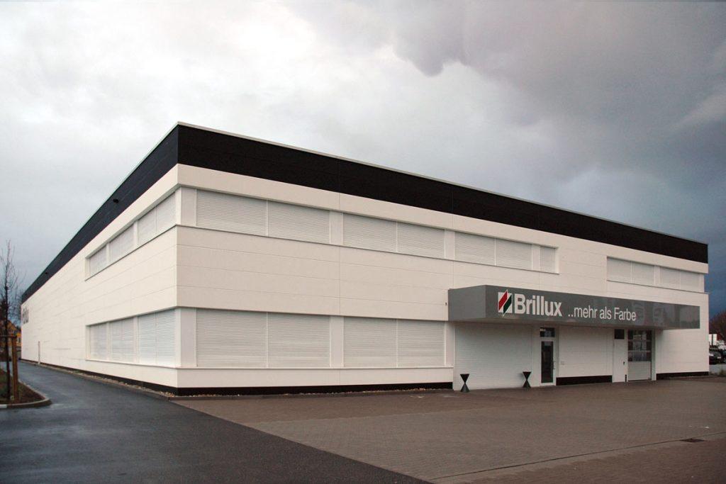 Auslieferungshalle Brillux Karlsruhe SWA