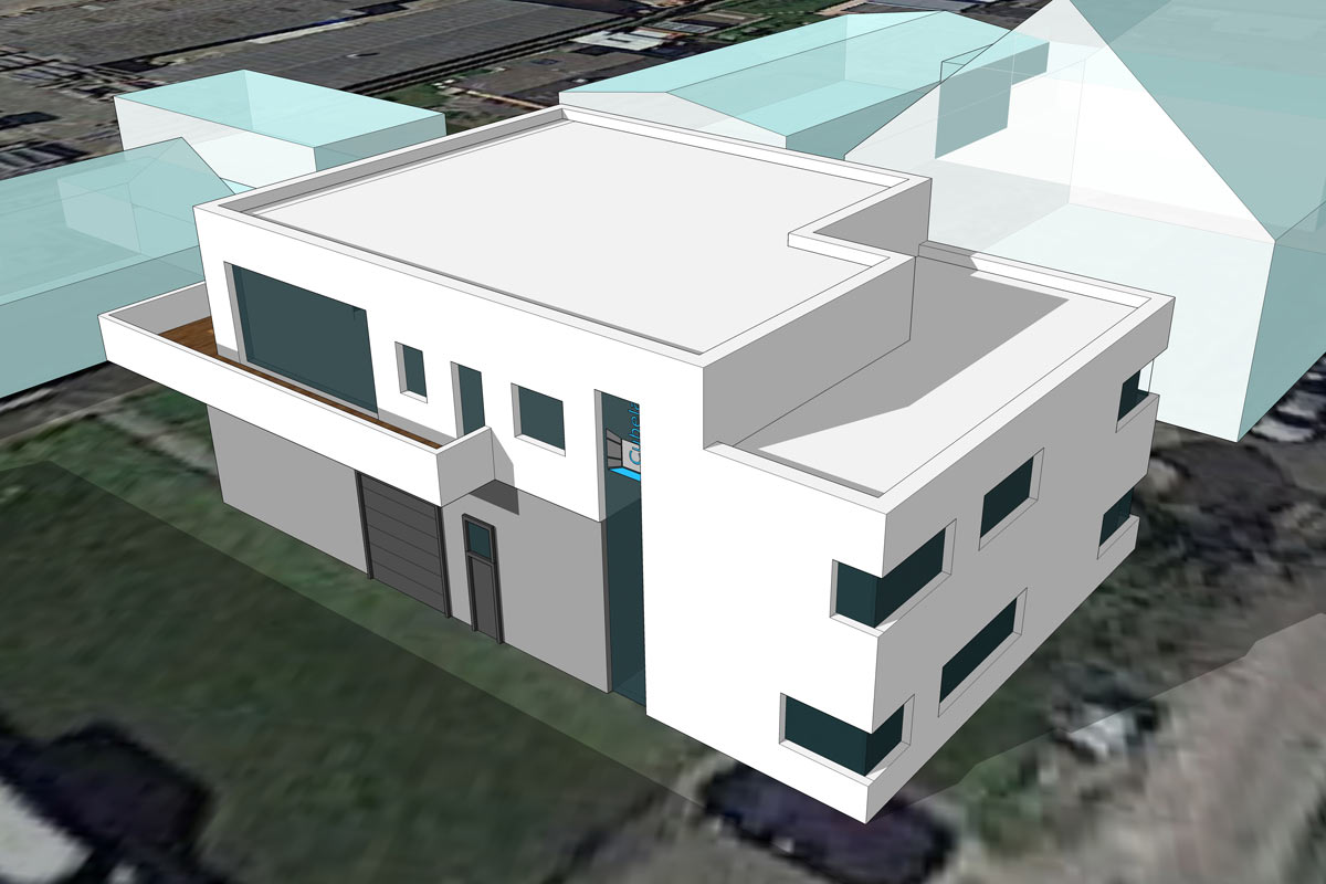 Wohn- Geschäftshaus Cubela Karlsruhe - SWA
