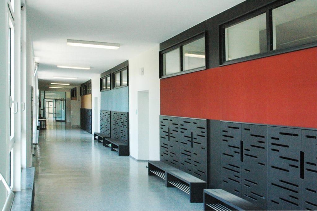 Brandschutz Altbau Weinbrennerschule Karlsruhe - SWA