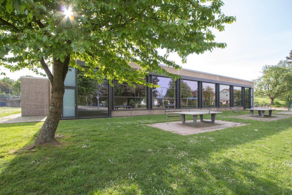 Tischtennishalle ASV Grünwettersbach - SWA