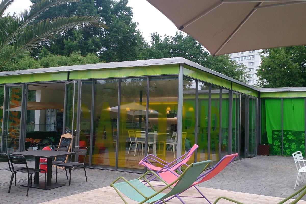 Zoo Pavillion Karlsruhe - SWA