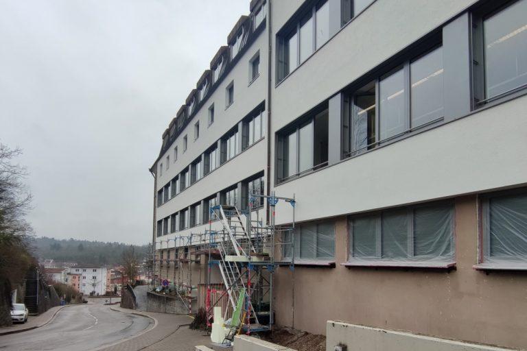 Gymansium St. Paulusheim - SWA - Fassade